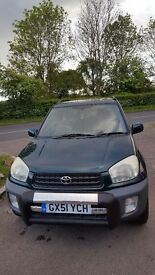 Very low mileage Toyota Rav4 1.8 NV VVTI