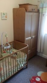 IKEA Leksvik Nursery furniture set Immaculate condition - will deliver and install for you