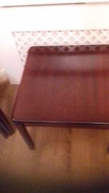 Parker Knoll Mahogany Lamp Table
