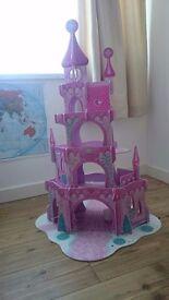 Pink wooden fairy castle