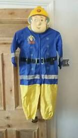 Fireman Sam waterproof all in one with mask