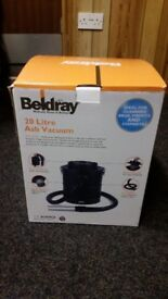 Beldray hoover for cleaning ash from fires