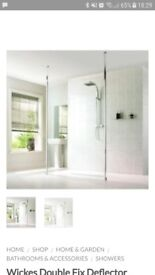Wickes brand new shower panel