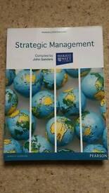 Heriot Watt - Strategic Management textbook