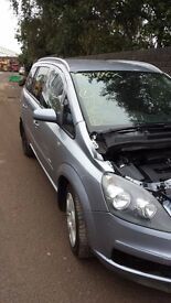 Zafira 2007 1.6 petrol for parts