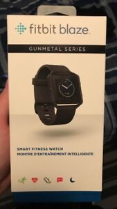 Fitbit Blaze Gunmetal Edition Large
