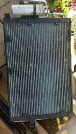 Vauxhall Corsa C air conditioning radiator