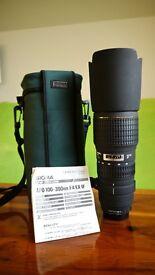 Sigma (Nikon F Mount) Telephoto Lens APO 100-300mm F4 EX IF in mint condition!!!