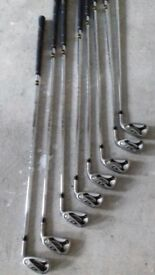 Set of Taylor Made golf irons