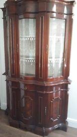 Italian Design Display Cabinet