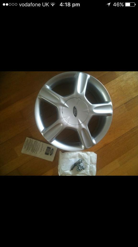 2x ford rs alloy wheels new never used , ideal trailer? Project Essex