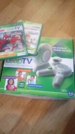 Leap TV like new boxed