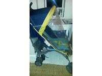 Mamas and Papas Swirl Pushchair/stroller with raincover. Excellent condition £25