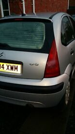 Citroen C3 Lx 2004 excellent condition only £20 Road tax