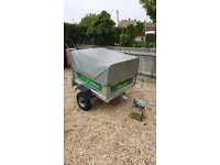 Daxara 107 trailer with extension and cover