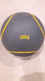 10KG WEIGHTS MEDICINE BALL