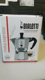 Bialetti moka pot 2 cup espresso maker