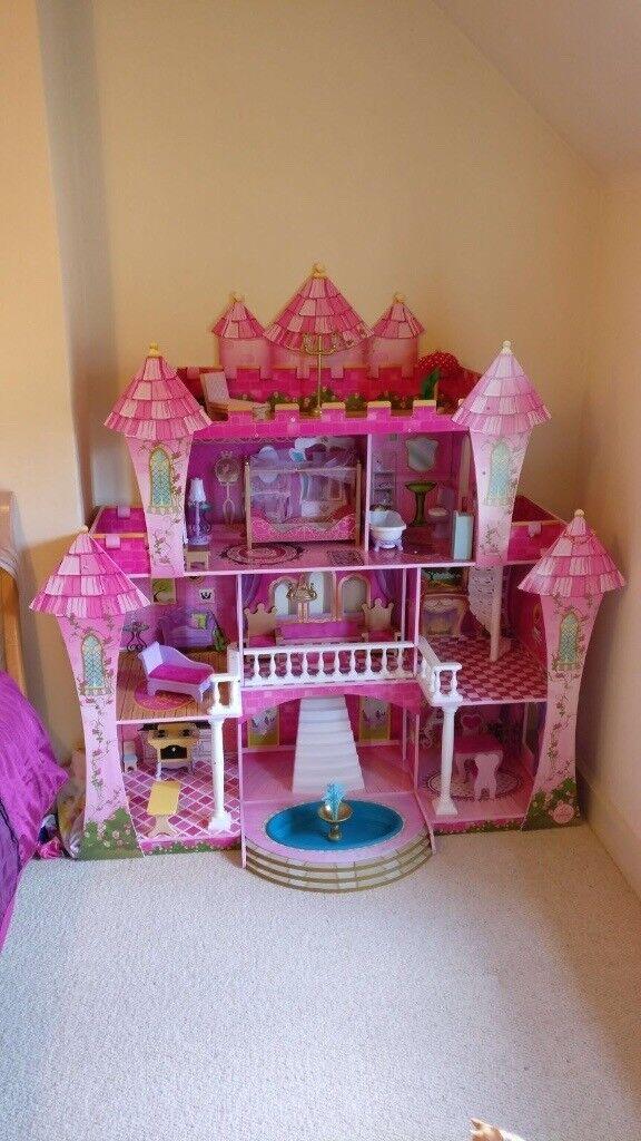 Beautiful Princess Castle Doll House