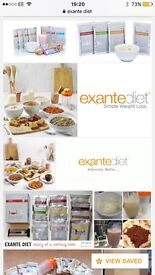 Exante products X 48 VLCD diet meal replacement plan