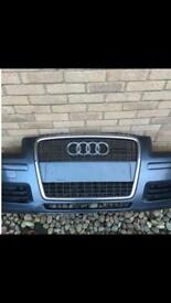 Audi A3 facelift front bumper