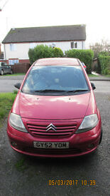 7 months free MOT. Reliable car, in good condition.