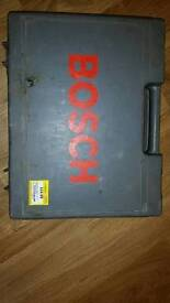 Bosch drill Box and charger. (No drill).