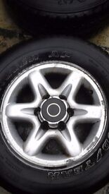 JEEP ALLOY RIMS/TYRES