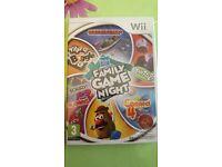Brand new Nintendo Wii -Hassbro Family Game Night