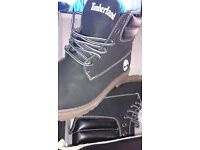 Ladies new boots size 4 - timberlands