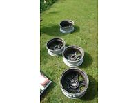"""£120 Ford Rs 1800 wheels for sale.4x100 15"""""""