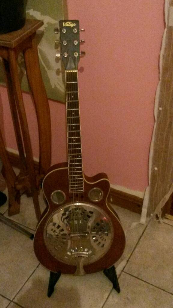 Vintage National guitar