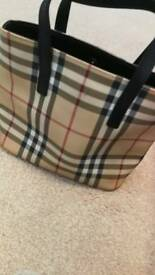 Genuine Burberry small bag