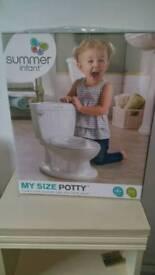 Summer infant potty training seat