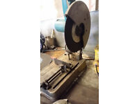 Makita 2414NB 110v chop saw with 3.3k transformer, 10 metal discs