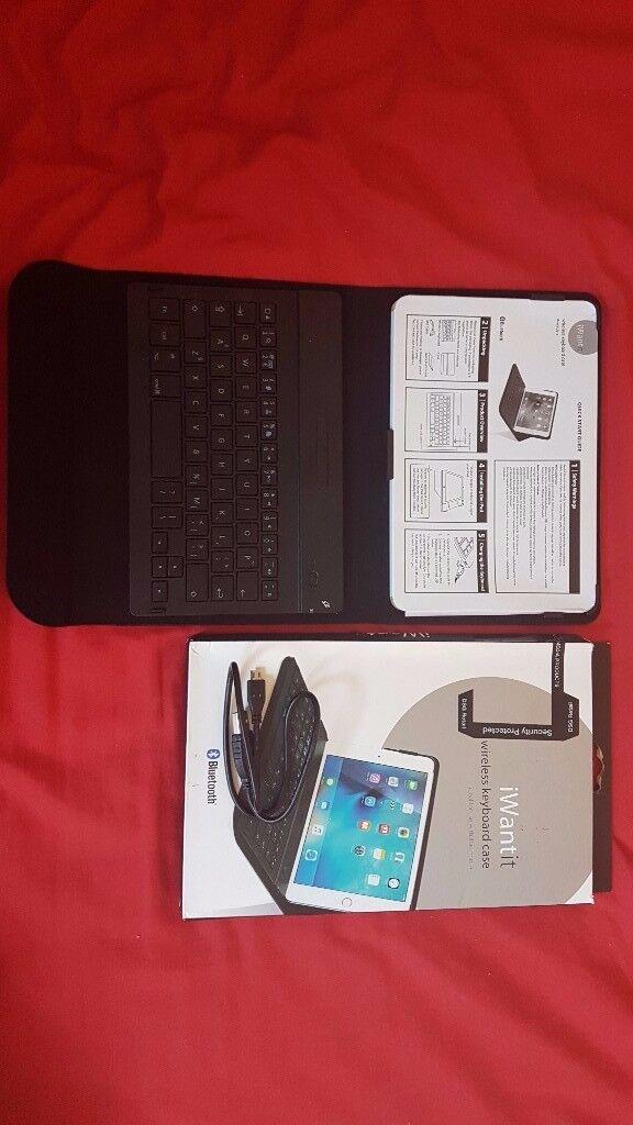 iPad Mini 4 Case Keyboard IWANTIT IM4KBCB16