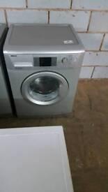 SILVER BEKO 7KG 1400 SPIN WASHING MACHINE WITH 3 MONTHS GUARANTEE
