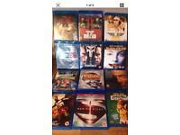 Job Lot blue ray films