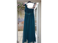 Teal Blue Size 14 Bridesmaid Dress - New with tags