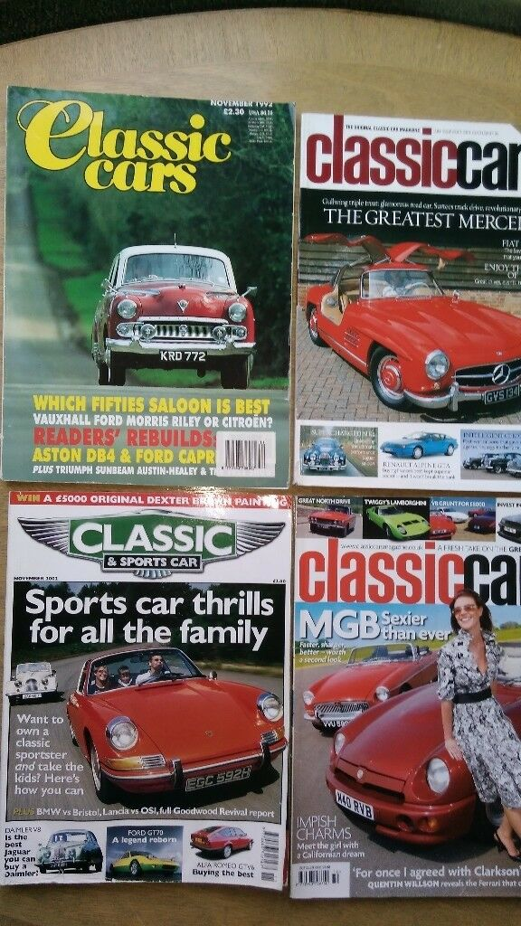 34 CLASSIC CAR MAGAZINES | in Marton-in-Cleveland, North Yorkshire ...