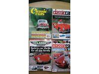 34 CLASSIC CAR MAGAZINES