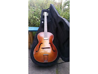 Hofner congress 1956/57 Archtop guitar with Kent pickup