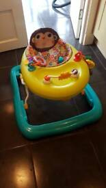 Baby walker good condition