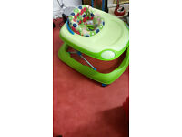 Chicco baby walker in very good condition, easy to fold away for easy storage and transport.