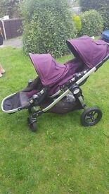 Baby jogger pushchair .City select double.