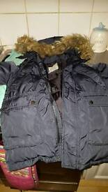 boys coat age 7 by zara