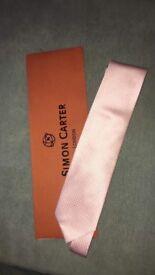 Bugatti Pink Silk Tie