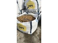 Aggregates - 10mm Pea Gravel, Sharp Sand, Yellow Sand, Mixed Ballast (Dumpy Sacks)