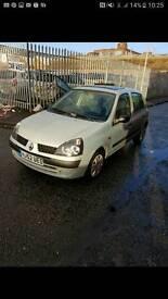 Renault clio 1.2 silver 9 months mot