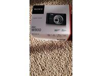 Sony Cyber-shot DSC-W800 digital camera + 8GB SDHC card