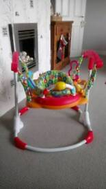 Baby bouncer musical activity centre